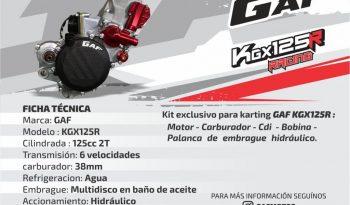 KGX125 R completo